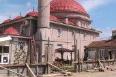 Kınık Köyü Camisinde bakım ve yenileme çalışmaları yapılıyor