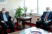 Kosova'lı Bakan'dan Rektör Tabakoğlu'na ziyaret