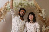 Rus gelin ile Kıbrıslı damatın nikahı Tekirdağ'da kıyıldı