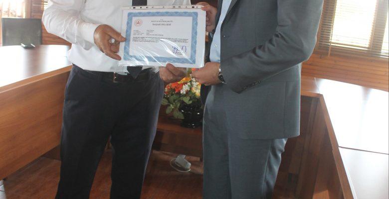 Manyas'ta BİGEP kapsamında eğitimci ve öğrenciler ödüllendirildi