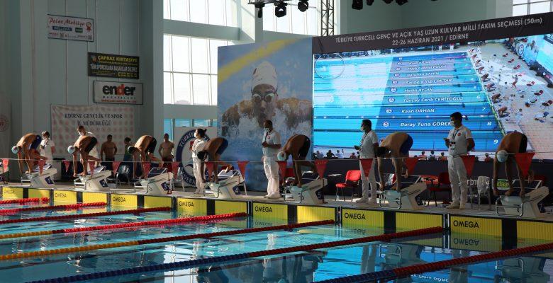 Edirne'deki yarışlarda Olimpiyat barajını geçti