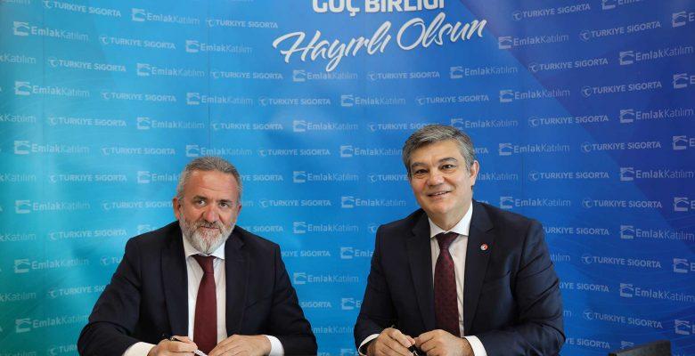 Türkiye Sigorta ve Türkiye Emlak Katılım Bankası güçlerini birleştirdi
