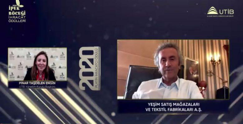 """Uludağ Tekstil İhracatçıları Birliğinin """"2020 İpek Böceği İhracat Ödülleri""""ni kazanan firmalar belli oldu"""