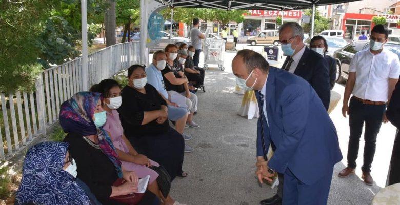 """Vali Canalp; """"Edirne, nüfusa oranla en çok Kovid-19 aşısının yapıldığı il"""""""