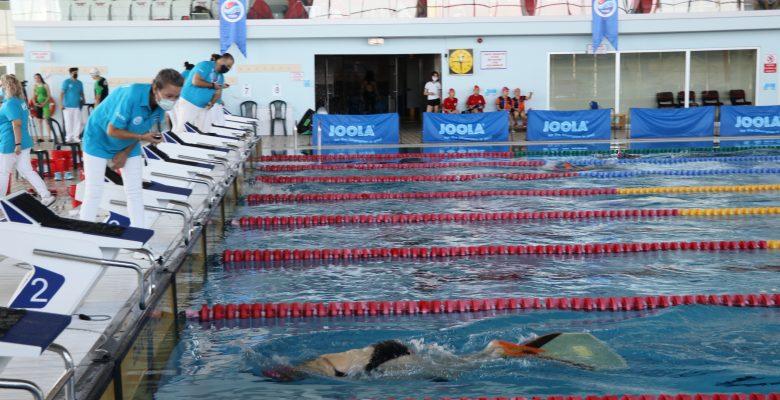 Paletli Yüzme Genç, Yıldız, Küçükler Demokrasi ve Milli Birlik Şampiyonası, Edirne'de başladı
