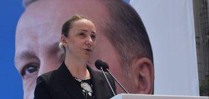 AK Parti MKYK Üyesi Zeybek, Partisinin bayramlaşma programında konuştu