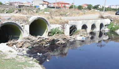 Atık sularını Çorlu Deresi'ne deşarj eden 71 işletmeye ceza!