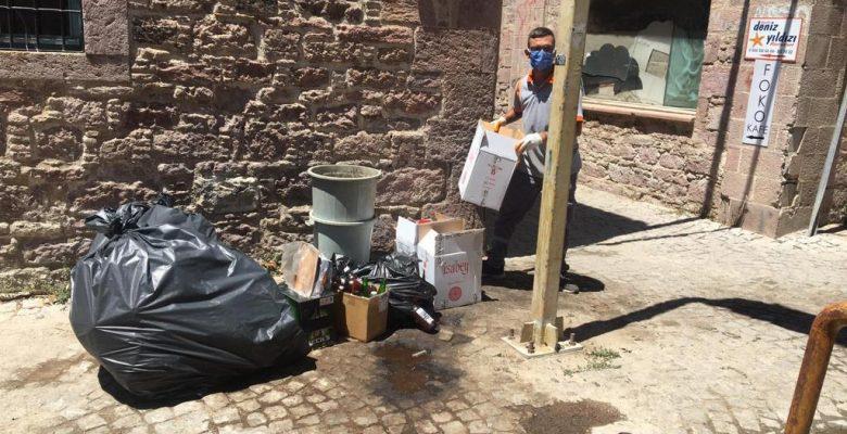 Bayram tatilinde 1 günde 240 ton çöp…