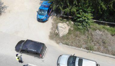 Jandarmadan drone ile trafik denetimi