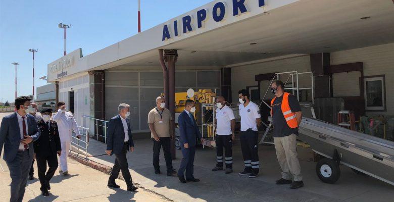 Çanakkale Valisi İlhami Aktaş'ın bayram ziyaretleri