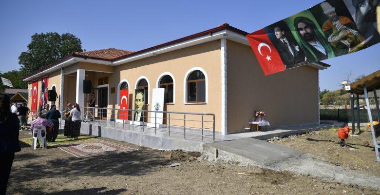 Musulça köyü Cemevi törenle açıldı