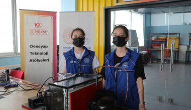 Deneyap Teknoloji Atölyesi öğrencisi ikiz kardeşler tasarladı