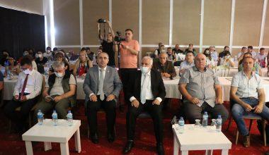 """Edirne'de """"Yeşil Gelecek"""" Projesi'nin kapanış toplantısı düzenlendi"""