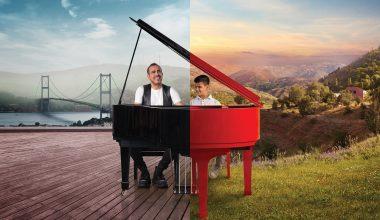 Haluk Levent ve kusursuz kulak Bager'den piyano düeti