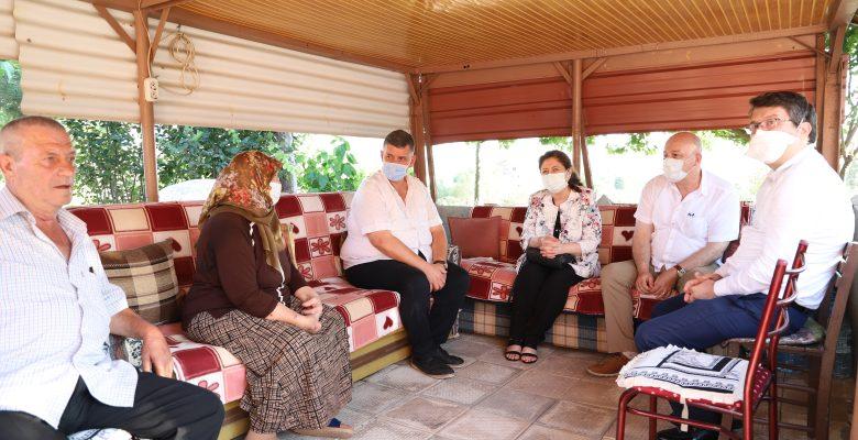 Hayrabolu Belediye Başkanı İnan, şehit ailelerinin bayramını kutladı