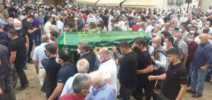 Kazada hayatını kaybeden CHP Gençlik Kolları Başkanı Tanrıkulu defnedildi