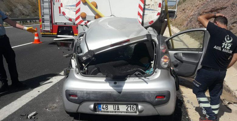 Sulama tankerine çarptı… 1 ölü, 1 yaralı!