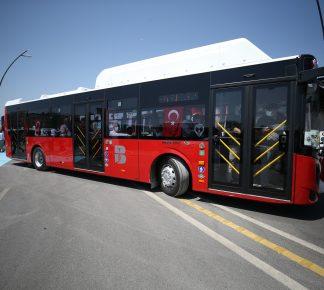 Çevre dostu otobüsler yollarda…
