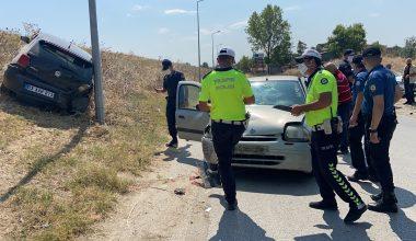 Edirne'de kaza! 1 yaralı
