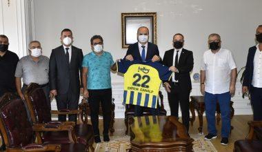 Edirne Fenerbahçeliler Derneği'nden ziyaret atağı