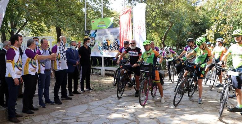 2. Uluslararası 3 Kapı Bisiklet Festivali Edirne'de başladı