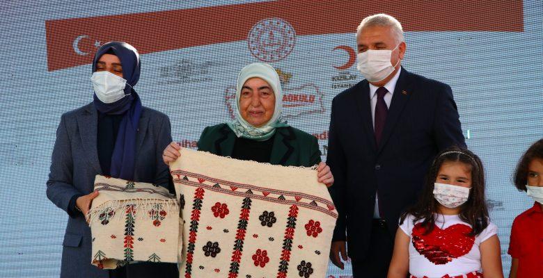 Semiha Yıldırım Kırklareli'nden sonra Tekirdağ'da anaokulu açılışı yaptı
