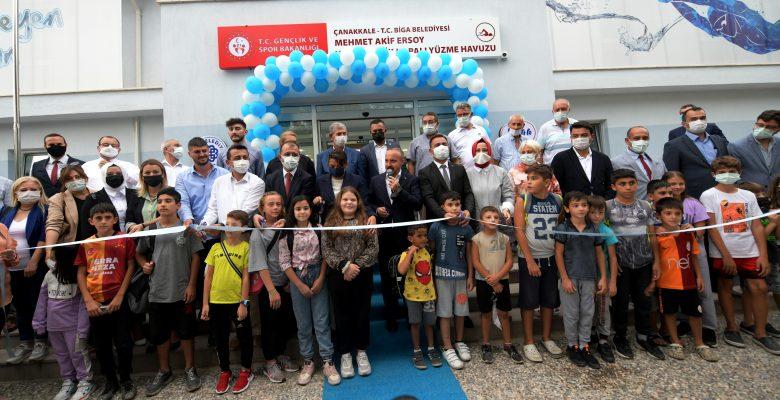 AK Partili Turan, Adapark Sosyal Tesisleri'nin açılışında konuştu