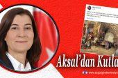 """Fatma Aksal'dan """"Ahilik Kurumu"""" vurgusu"""