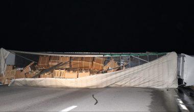 Edirne-İstanbul Otoyolu'nda zincirleme trafik kazasında 6 kişi yaralandı
