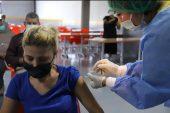 Edirne'de fabrika çalışanları iş yerlerinde aşılanıyor