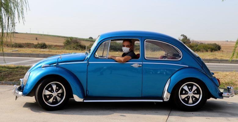 """İlaç mümessilinin """"klasik otomobil restore hobisi"""" tutkuya dönüştü"""