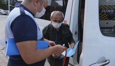 Edirne'de okul servisleri denetlendi