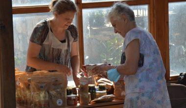Keşan'ın yöresel ürünleri Bulgaristan'da tanıtıldı