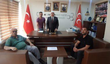 """Tercan; MHP'ye Edirne'de büyük ilgi var"""""""