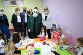 Binali Yıldırım'ın eşi Semiha Yıldırım Kırklareli'nde anaokulu açılışı yaptı