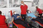 Keşan'da kan bağışı kampanyası