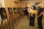 Ressam Ahmet Şahit'in oğlu Ferit Şahit anısına oluşturduğu resim sergisi açıldı