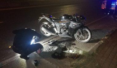Motosikletin çarptığı 1'i çocuk 3 kişi yaralandı