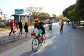 """Tekirdağ'da """"Süslü Kadınlar Bisiklet Turu"""""""