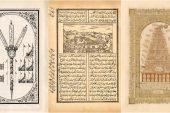 Kabe ve Medine-i Münevvere'nin 140 yıllık tasvirlerini yayınlandı